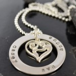Personalised, hand stamped jewellery
